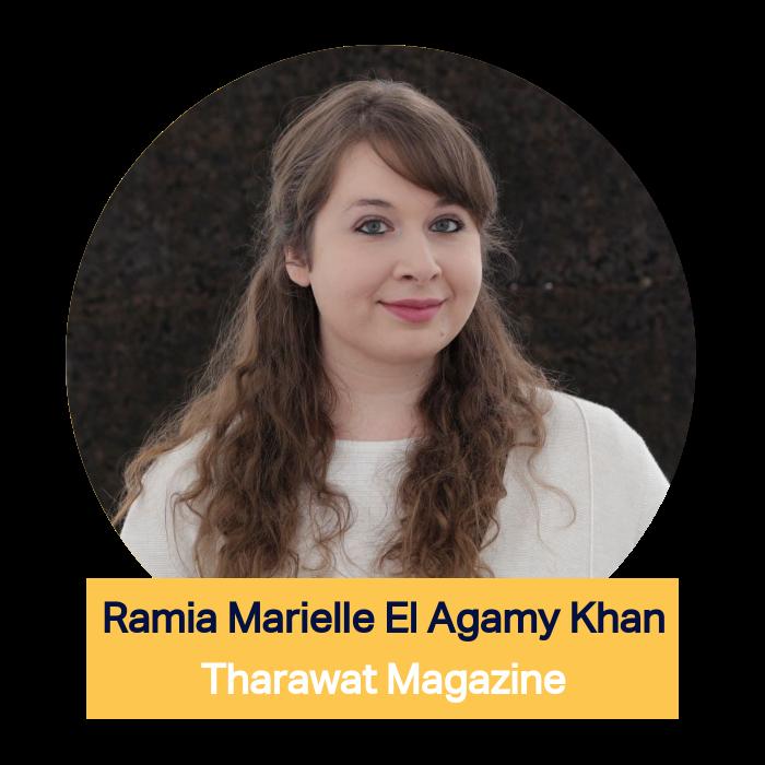 Ramia Marielle El Agamy Khan, Tharawat Magazine